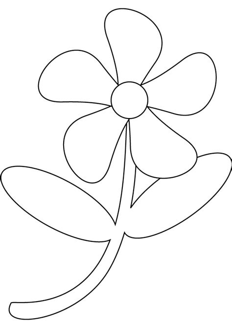 flowers drawing pages   clip art