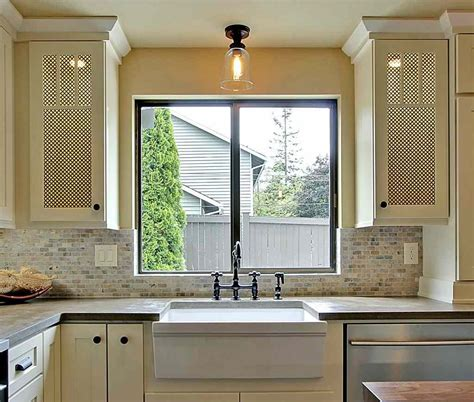kitchen cabinets with glass doors on both sides window mullion inserts accent cabinet doors styles from 9863