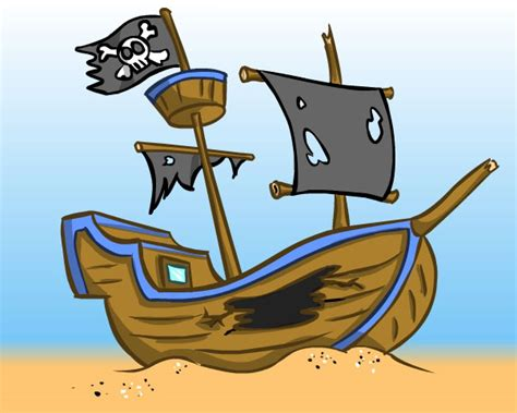 animated wrecked ship wreck clipart clipground