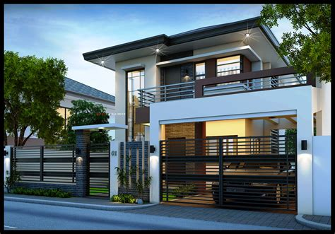 modern contemporary house plans 2 storey modern house plans picture modern house