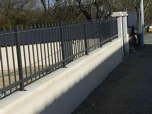 Muret De Cloture : cloture pour muret cl tures en fer forg 10 cl tures ~ Melissatoandfro.com Idées de Décoration