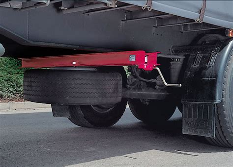 commercial vehicle equipment spare wheel systems