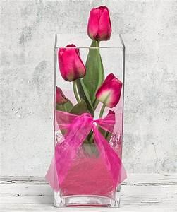 Deko Vasen Mit Blumen : deko vase tulpen pink 30cm und belgische pralinen jetzt bestellen bei valentins valentins ~ Markanthonyermac.com Haus und Dekorationen