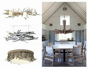 Plafonnier En Bois : le bois flott en suspension ou lustre ~ Teatrodelosmanantiales.com Idées de Décoration