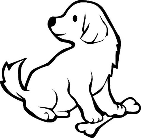 Free Puppy Coloring Pages