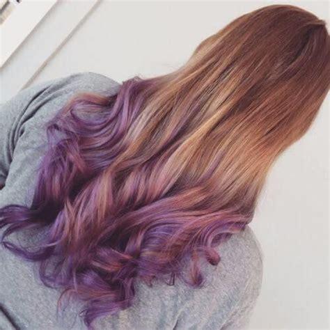 30 Purple Ombre Hair Color Ideas Dyed Hair Purple Hair