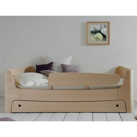 chambre en bois massif lit enfant 90x200 complet jannis coloris frêne blanchi