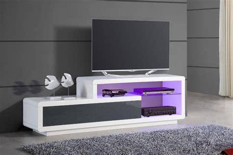 bureau soldé meuble bas tv design italien