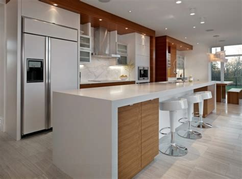comptoir de cuisine en bois comptoir de cuisine en 31 idées design