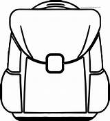 Coloring Bag Pages Popular Bags sketch template