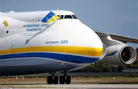 World's largest plane Antonov An-225 Mriya lands in Perth ...