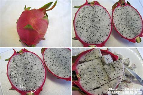 how to cut dragon fruit shrimp avocado and fruit salad recipe christine s recipes easy recipes