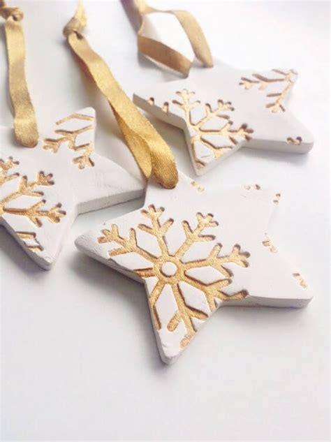 geschenke aus salzteig bastelideen f 252 r diy geschenke zu weihnachten weihnachtsschmuck aus ton basteln weihnachtsdeko