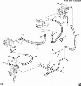 Hose P  S Fluid Reservior Outlet Topkick Kodiak 6 6 Duramax