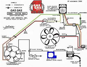 Gas Gas Wiring Diagram