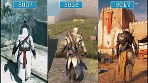 All Assassin's Creed Games (2007- 2017)   Graphics ...
