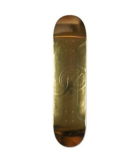 "Primitive Classic P Gold 775"" Skateboard Deck Zumiez"