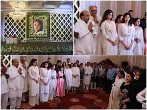 Sridevi prayer meet: Late actress Sridevi's prayer meet ...