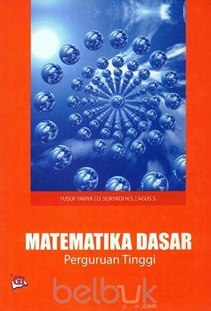 matematika dasar  perguruan tinggi yusuf yahya