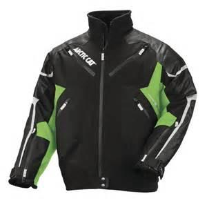 arctic cat jackets new arctic cat leather tex jacket maxsled snowmobile