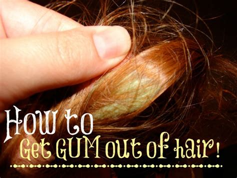 what gets gum out how to remove gum from hair and clothes mylitter one deal at a time