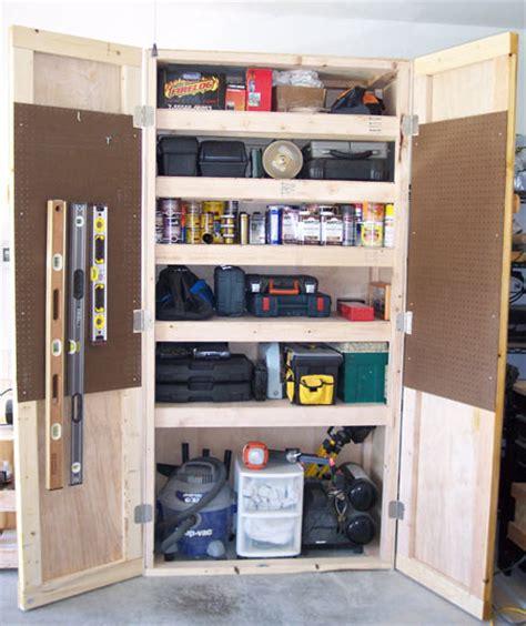 diy garage cabinets with doors 20 diy garage shelving ideas guide patterns