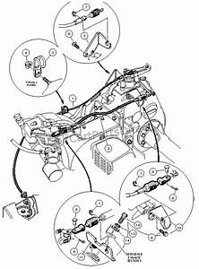 Columbia Par Car Manual Throttle Cables Diagram