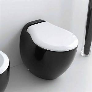 Badgarnitur 3 Teilig Stand Wc : art ceram stand wc blend mit wc sitz design paolelli meneghello black and white ~ Bigdaddyawards.com Haus und Dekorationen