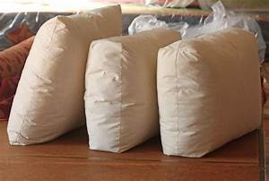 cushion works toss pillows three different seams With different types of pillows