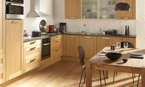 cuisine hetre clair déco cuisine nature