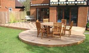 Modele De Terrasse : photos les terrasses rondes ~ Preciouscoupons.com Idées de Décoration