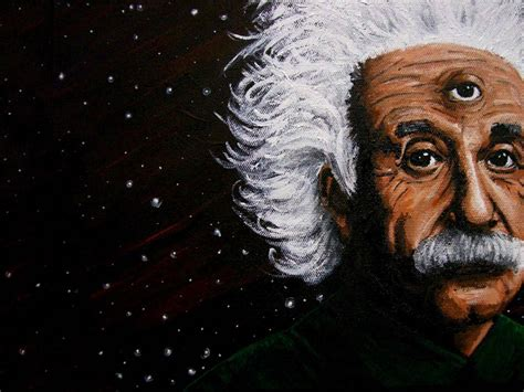 albert einstein  eye  widescreen background awesome