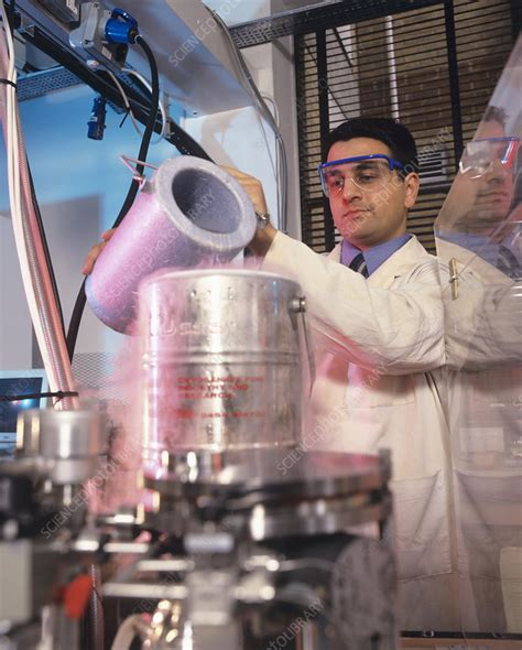 Biologist at work - Stock Image - G350/0482 - Science ...