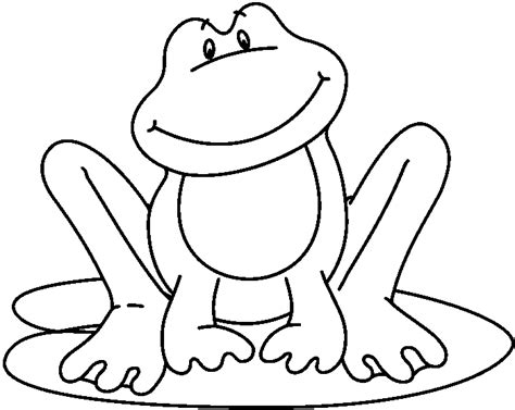 Frog Clipart Black And White Frog In Black And White Clipart Best