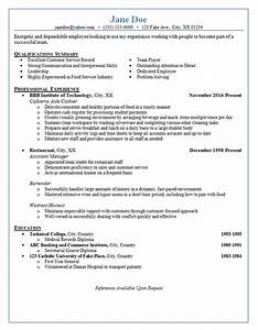 Responsibilities Of A Waitress For Resumes Restaurant Server Server Resume Restaurant Resume