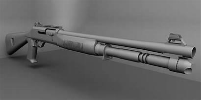 Shotgun Benelli Military Wallpapers Gun Weapon Super90