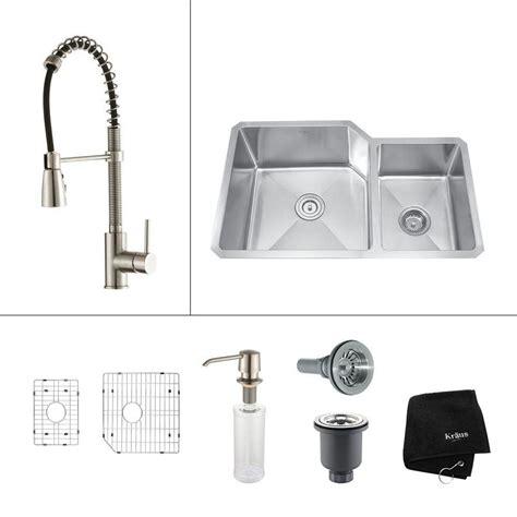 32 inch undermount kitchen sink kraus 32 inch undermount bowl stainless steel 7328