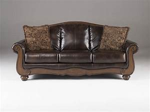 Ashley Furniture Signature Design Barcelona Antique Sofa