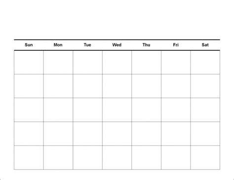 easy fill calendar calendar template