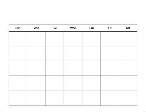 easy fill calendar calendar template