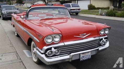 1958 Chevrolet Impala Convertible For Sale In Chula Vista