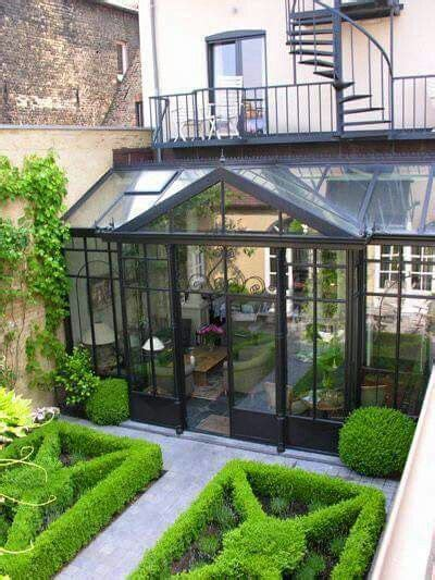 beautiful greenhouse  sunroom extension