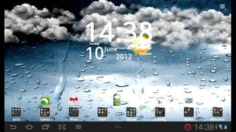 Animated Weather Wallpaper - go weather live wallpaper