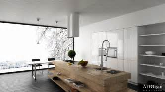 modern island kitchen designs twists for modern kitchens