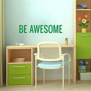 be awesome wall decal inspirational wall sticker With awesome fatheadz wall decals
