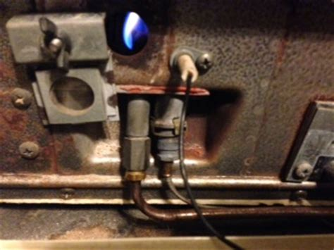 Empire Floor Furnace Pilot Light by Thermocouple For Williams Wall Furnace Doityourself