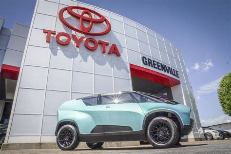 Toyota Of Greenville by Clemson Students Concept Car On Display At Toyota Of