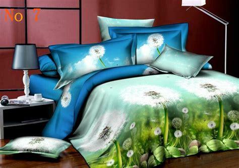 3d cotton bedding sets cheap cotton bed sheet king