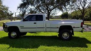 1998 Dodge Ram 3500 Quad Cab Cummins Diesel 4x4 For Sale