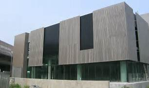 Exterior Options For Metal Buildings by Cladding KingWood Composite Timber Solutions Australia National Building
